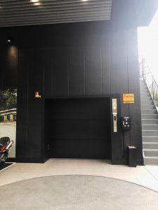 自動車用エレベーター新設作業イメージ4